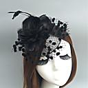 povoljno Party pokrivala za glavu-Perje / Net Fascinators / Cvijeće / kape s Perje / krzno / Cvjetni print 1pc Vjenčanje / Special Occasion Glava