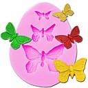 ieftine Ustenside de copt-3 cavitate fluture silicon tort mucegai săpun bomboane ciocolată tort de unelte