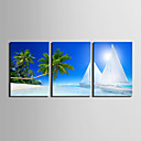 cheap Rolled Canvas Prints-Canvas Print Modern, Three Panels Canvas Vertical Print Wall Decor Home Decoration