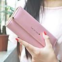 رخيصةأون محافظ-للمرأة أكياس PU محافظ نموذج / طباعة هندسي وردي بلاشيهغ