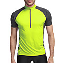 cheap RC Parts & Accessories-KORAMAN Men's Short Sleeve Cycling Jersey - Green / Blue Bike Jersey, Quick Dry, Breathable, Reflective Strips Polyester, Spandex, Coolmax® / Stretchy