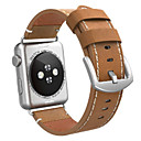baratos Smartwatch Acessórios-Pulseiras de Relógio para Apple Watch Series 4/3/2/1 Apple Fecho Clássico Couro Tira de Pulso