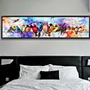 preiswerte Wand-Sticker-Romantik Ölgemälde Wandkunst,Aleación de Aluminio Stoff Mit Feld For Haus Dekoration Rand Kunst Schlafzimmer Drinnen