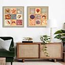 זול כריות קישוט-חיות איור וול ארט,PVC חוֹמֶר עם מסגרת For קישוט הבית אמנות מסגרת סלון פנימי