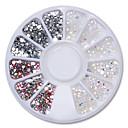 Χαμηλού Κόστους Ράφια & Στγρίγματα-Φωλιά Glitter Σχεδίαση Νυχιών Μοντέρνα / Bling Bling Καθημερινά