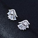 cheap Earrings-Women's Stud Earrings - Silver Plated Silver For Wedding / Party