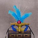 hesapli Cadılar Bayramı Kostümleri-Klasik Masquerade Mask Sarı Gül Kırmzı Mavi Pembe Plastikler Cosplay Aksesuarları Maskeli Balo