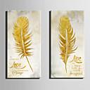 abordables Impresiones-Impresión de lienzo Modern, Dos Paneles Lona Vertical Estampado Decoración de pared Decoración hogareña