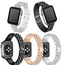 baratos Smartwatch Acessórios-Pulseiras de Relógio para Apple Watch Series 4/3/2/1 Apple Fecho Moderno Metal Tira de Pulso