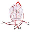 ieftine Momeli & Muște de Pescuit-10 pcs Cârlige Aberdeen Cârlige de Pescuit Pescuit mare / Aruncare Momeală / Pescuit la Copcă Plastic Dur / Crom Rapiditate / Simplu / Stralucire in intuneric / Filare / Pescuit la Oscilantă
