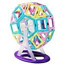 זול בלוקים מגנטיים-בלוק מגנטי אבני בניין 118 pcs נושא קלאסי טרנספורמבל בנים צעצועים מתנות