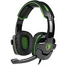 זול Headsets & Headphones-SADES SA-930 רצועת ראש חוטי אוזניות דִינָמִי פלסטי גיימינג אֹזְנִיָה עם מיקרופון אוזניות