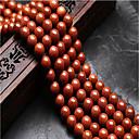 זול חרוזים-תכשיטים DIY 48 יח חרוזים קריסטל חום עגול חָרוּז 0.8 cm עשה זאת בעצמך שרשראות צמידים