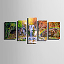 cheap Rolled Canvas Prints-Print Rolled Canvas Prints Modern Five Panels