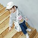 זול אוברולים טריים לתינוקות-תִינוֹק חולצה אחיד בנות רגיל תלתן שחור
