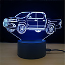 baratos Quadicópteros CR & Multirotores-1conjunto LED Night Light Carregamento USB O stress e ansiedade alívio / Cores Variáveis / Com porta USB 5 V