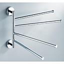 baratos Toalheiros-Barra para Toalha Universal Aço Inoxidável 1 Pça. - Banho do hotel Barra de 4 toalhas
