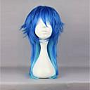 זול מחזיקים ומרכבים-פאות לוליטה לוליטה מתוקה כחול נסיכות פאות לוליטה 60cm CM פאות קוספליי צבע הדרגתי פאה עבור