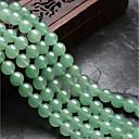 זול חרוזים-תכשיטים DIY 48 יח חרוזים קריסטל ירוק עגול חָרוּז 0.8 cm עשה זאת בעצמך שרשראות צמידים