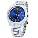 baratos Quartz-JUBAOLI Mulheres Relógio de Pulso Quartzo Relógio Casual Legal Lega Banda Analógico Brilhante Prata - Branco Preto Azul Escuro