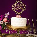 baratos Artigos de Festas-Casamento / Aniversário Acrílico Decorações do casamento Tema Clássico Todas as Estações