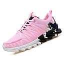 זול נעלי עקב לנשים-בגדי ריקוד נשים נעליים טול / PU אביב / סתיו נוחות נעלי אתלטיקה ריצה עקב נמוך שחור / ורוד
