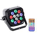 tanie Oświetlenie sceniczne-U'King Oświetlenie LED sceniczne / Żarówki LED Par DMX 512 / Master-Slave / Aktywowana Dźwiękiem na Impreza / Scena / Bar Łatwe przenoszenie / Lekki