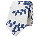 رخيصةأون ربطات العنق للرجال-ربطة العنق طباعة قطن للرجال