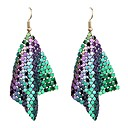 cheap Earrings-Women's Drop Earrings - Fashion Black / Silver / Rainbow For Party / Festival