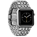 cheap Smartwatch Accessories-Watch Band for Apple Watch Series 3 / 2 / 1 Apple Classic Buckle Steel Wrist Strap