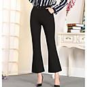 abordables Sandalias de Mujer-Mujer Tallas Grandes Tiro Alto Algodón Ajustado a la Bota Pantalones - Un Color