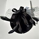 abordables Traje de Halloween-Algodón Sombreros con Perlado Artificial / Corbata de Lazo 1pc Boda / Ocasión especial Celada
