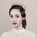 cheap Party Headpieces-Rhinestone / Metal Tiaras / Flowers with Rhinestone / Faux Pearl 1pc Wedding / Special Occasion Headpiece