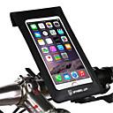 זול מחזיקים ומרכבים-אופניים טלפון סלולרי הר לעמוד עומד מתכווננת לעמוד טלפון סלולרי סוג אבזם ABS מחזיק