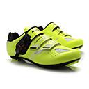 abordables Zapatos de Ciclismo-Tiebao® Calzado para Bicicleta de Carretera Nylón Impermeable, A prueba de resbalones, Amortización Ciclismo Negro / Verde Hombre