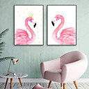 cheap Masks-Animals Illustration Wall Art,PVC Material With Frame For Home Decoration Frame Art Living Room Indoor