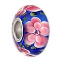 זול סט תכשיטים-תכשיטים DIY 5 יח חרוזים סגסוגת שחור ורוד פנינה כחול בהיר כחול ים עגול חָרוּז 0.45 cm עשה זאת בעצמך שרשראות צמידים