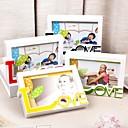 baratos Porta-Retratos e Álbuns-Romance Plásticos / Vidro Molduras de Fotografias Romance 1 pcs Todas as Estações / Não-Personalizado