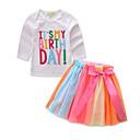 זול בקבוקי אבק & תרמוסים-בנות יום יומי / סגנון רחוב כותנה מכנסיים - דפוס לבן / בית הספר / בית הספר / פעוטות