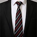 זול אביזרים לגברים-עניבת צווארון - פסים עבודה יום יומי בגדי ריקוד גברים