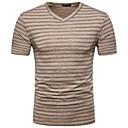 economico T-shirt e canotte da uomo-T-shirt Per uomo Moda città A V / Manica corta