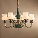 baratos Torneiras de Banheiro-ZHISHU 6-luz Lustres Luz Superior - Estilo Mini, 110-120V / 220-240V Lâmpada Incluída / 15-20㎡ / E26 / E27