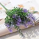 זול פרחים מלאכותיים-פרחים מלאכותיים 2 ענף פסטורלי סגנון צמחים פרחים לשולחן