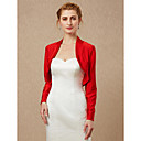 cheap Jewelry Sets-Long Sleeves Spandex Wedding Party / Evening Women's Wrap Coats / Jackets