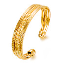 cheap Bracelets-Women's Cuff Bracelet - Gold Plated Fashion Bracelet Gold For Party Gift