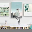 זול הדפסי בד מגולגל-הדפסי בד מגולגל מודרני, שלושה פנלים בַּד אנכי דפוס דקור קיר קישוט הבית