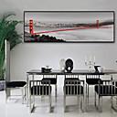 זול אומנות ממוסגרת-L ו-scape נופי איור וול ארט,פלסטיק חוֹמֶר עם מסגרת For קישוט הבית אמנות מסגרת סלון פנימי