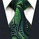 رخيصةأون فساتين البنات-ربطة العنق ورد بيزلي جاكوارد رايون, عمل أساسي للرجال