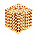 levne Magnetické kostky-216 pcs 3mm Magnetické hračky magnetické kuličky Stavební bloky Super Strong magnetů ze vzácných zemin Neodymové magnety Stres a úzkost Relief Office Desk Toys Udělej si sám Dětské / Dospělé Unisex