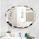 זול גאדג'טים לאמבט-מראה עכשווי זכוכית משוריינת יחידה 1 - מראה אביזרי מקלחת / מוברש
